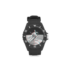 Moon Walker 3-D Sport Rubber Strap Watch(Model 301)