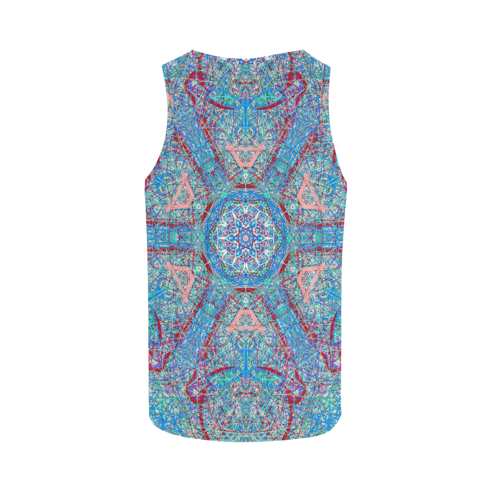 Thleudron Women's Milky Way All Over Print Tank Top for Women (Model T43)