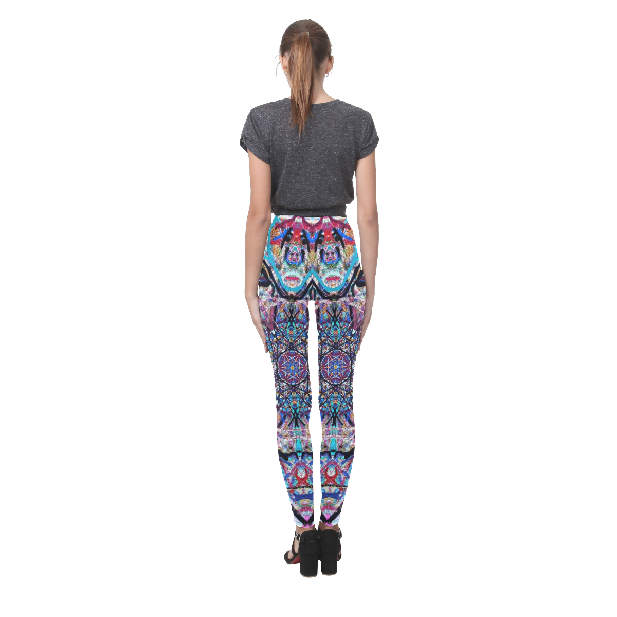 Thleudron Women's Dream Catcher Cassandra Women's Leggings (Model L01)