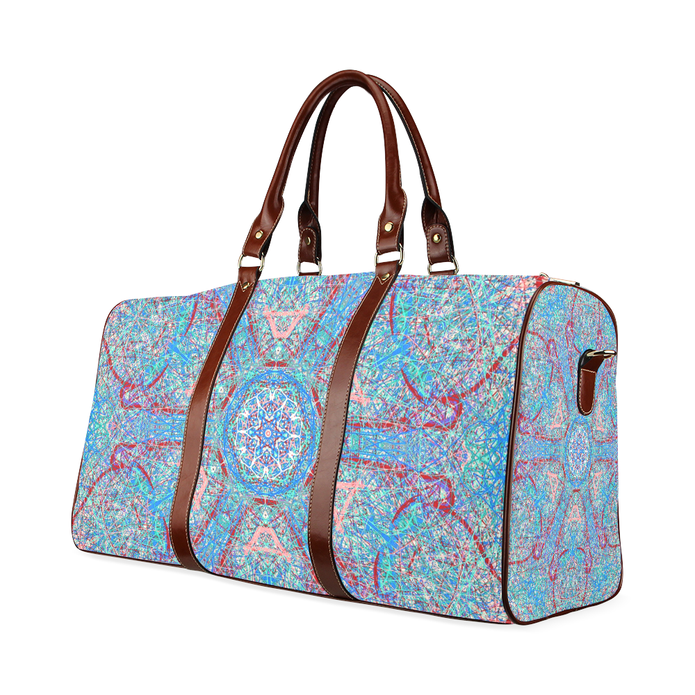 Thleudron Women's Milky way Waterproof Travel Bag/Large (Model 1639)