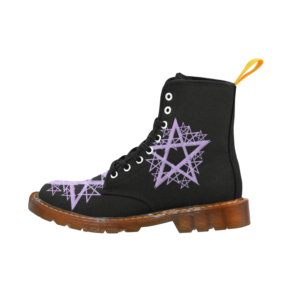 Purple Pentacle Martin Boots Martin Boots For Women Model 1203H
