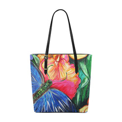 Butterfly Life Euramerican Tote Bag/Small (Model 1655)