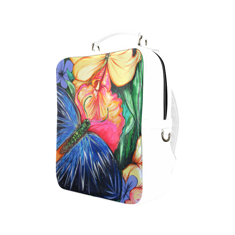 Butterfly Life Square Backpack (Model 1618)