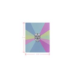 Pop Art Skull 02C by JamColors Logo for Men&Kids Clothes (4cm X 5cm)