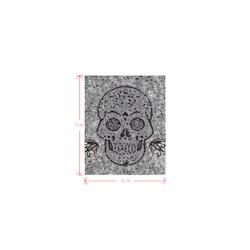Mosaic Skull Logo for Men&Kids Clothes (4cm X 5cm)