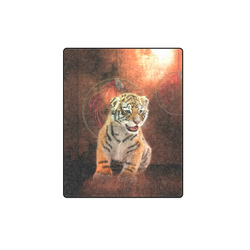 "Cute little tiger Blanket 40""x50"""