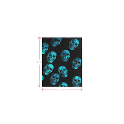 skulls blue by JamColors Logo for Men&Kids Clothes (4cm X 5cm)