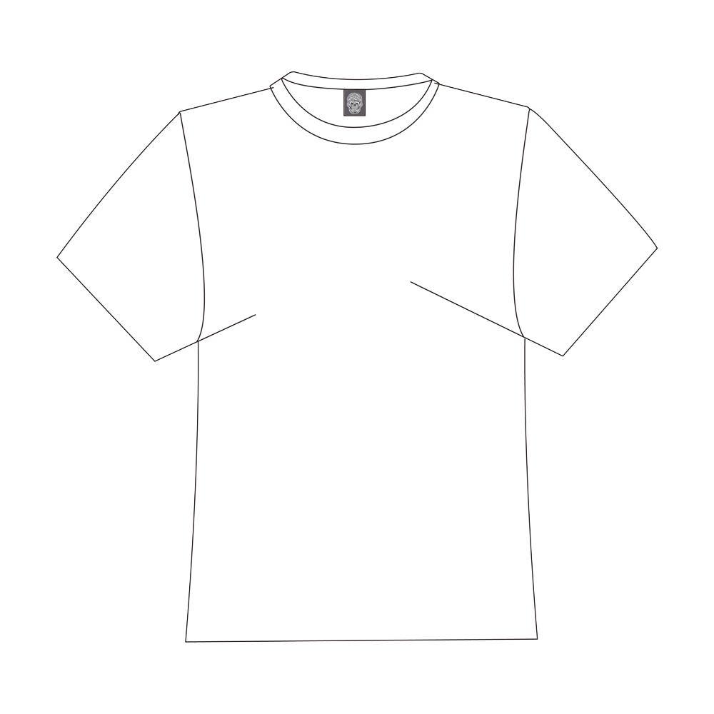 funny skull Logo for Men&Kids Clothes (4cm X 5cm)