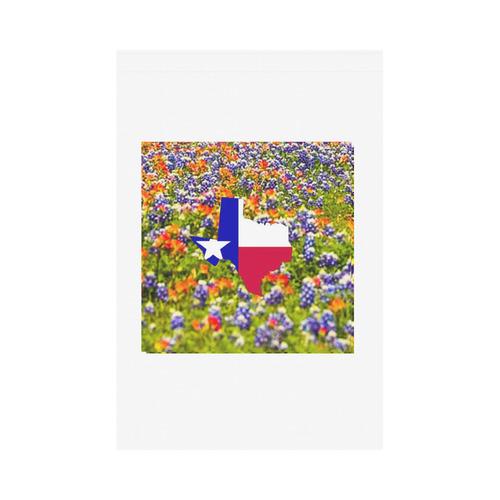 Texas Bluebonnett Garden Flag Garden Flag 12''x18''(Without Flagpole)