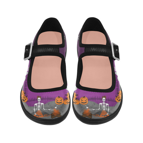 Glamp In the Cemetery Mary Jane Virgo Instep Deep Mouth Shoes