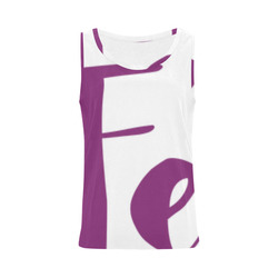 feactiva top2W All Over Print Tank Top for Women (Model T43)