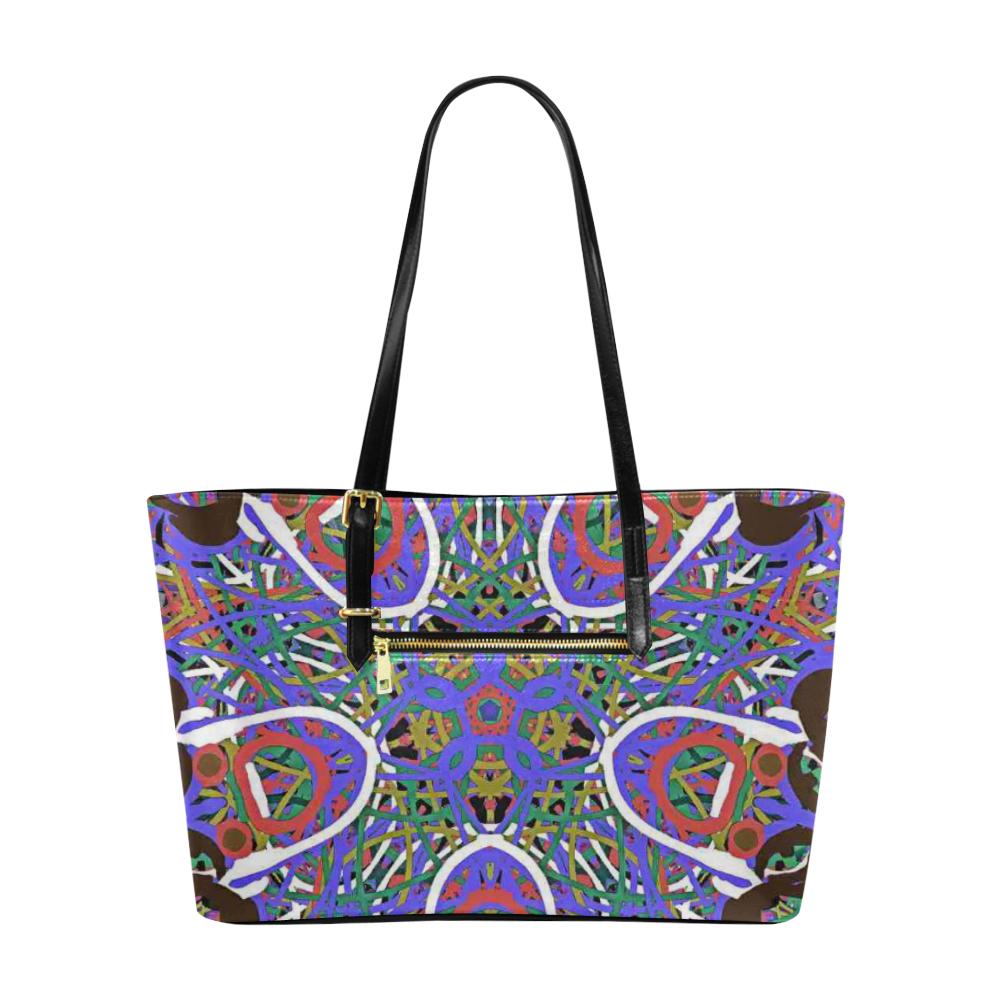 Thleudron Women's Happy Euramerican Tote Bag/Large (Model 1656)