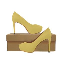 Trendy Basics - Trend Color PRIMEROSE YELLOW Women's High Heels (Model 044)