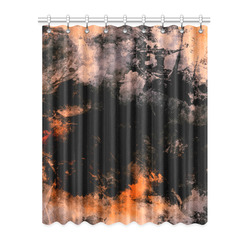 """abstraction colors Window Curtain 52"""" x 63""""(One Piece)"""