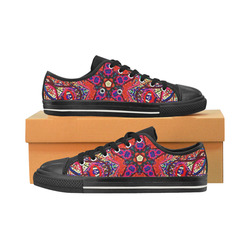 Thleudron Women's Mermaids Women's Classic Canvas Shoes (Model 018)