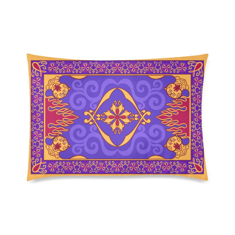 "Arabian Design Custom Zippered Pillow Case 20""x30""(Twin Sides)"