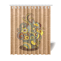 "for coffee lovers Shower Curtain 69""x84"""