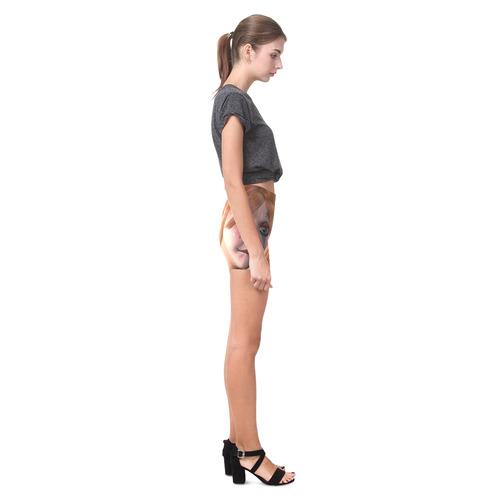 The sweet sad clown Briseis Skinny Shorts (Model L04)
