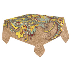 """for coffee lovers Cotton Linen Tablecloth 52""""x 70"""""""
