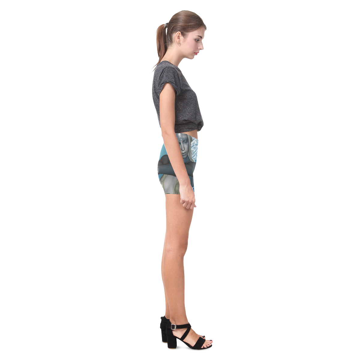The fairy of water Briseis Skinny Shorts (Model L04)