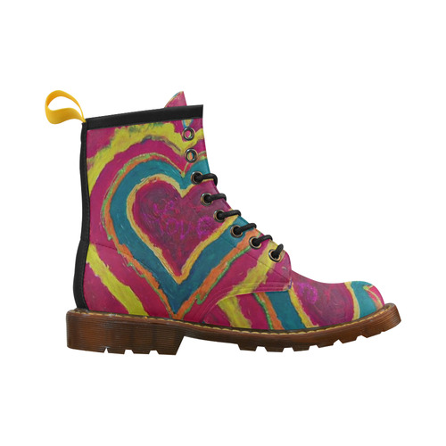 Love is the HEART Women's Boot High Grade PU Leather Martin Boots For Women Model 402H