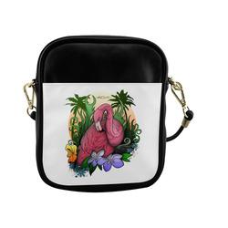 Flamingo Sling Bag (Model 1627)