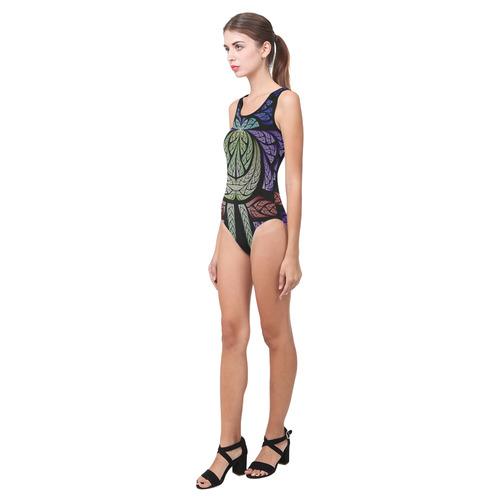 Concord Vest One Piece Swimsuit (Model S04)