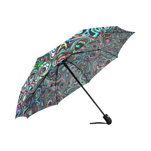 VanGogh Swirl - Jera Nour Auto-Foldable Umbrella (Model U04)