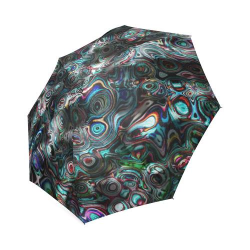 VanGogh Fur - Jera Nour Foldable Umbrella (Model U01)