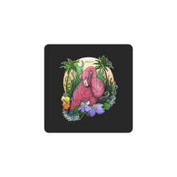 Flamingo Square Coaster