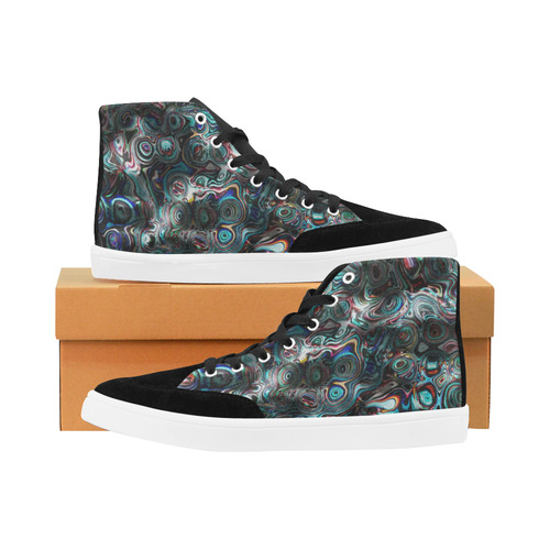 VanGogh Fur - Jera Nour Herdsman High Top Shoes for Men (Model 038)