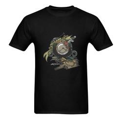 End Of Time Sunny Men's T- shirt (Model T06)