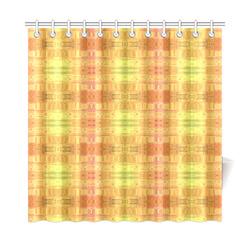 "Glitch No. 5 Shower Curtain 72""x72"""