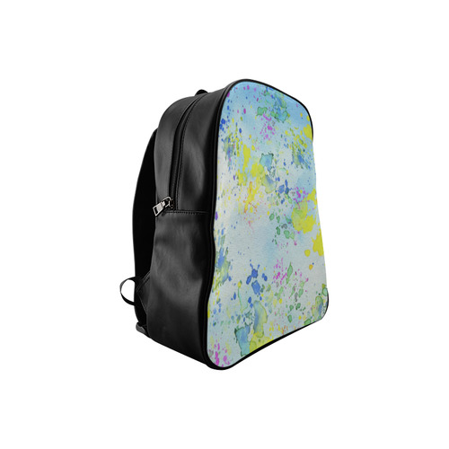 Watercolors splashes School Backpack/Large (Model 1601)