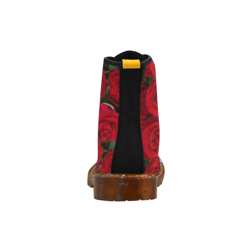 Rose Bush Martin Boots For Women Model 1203H