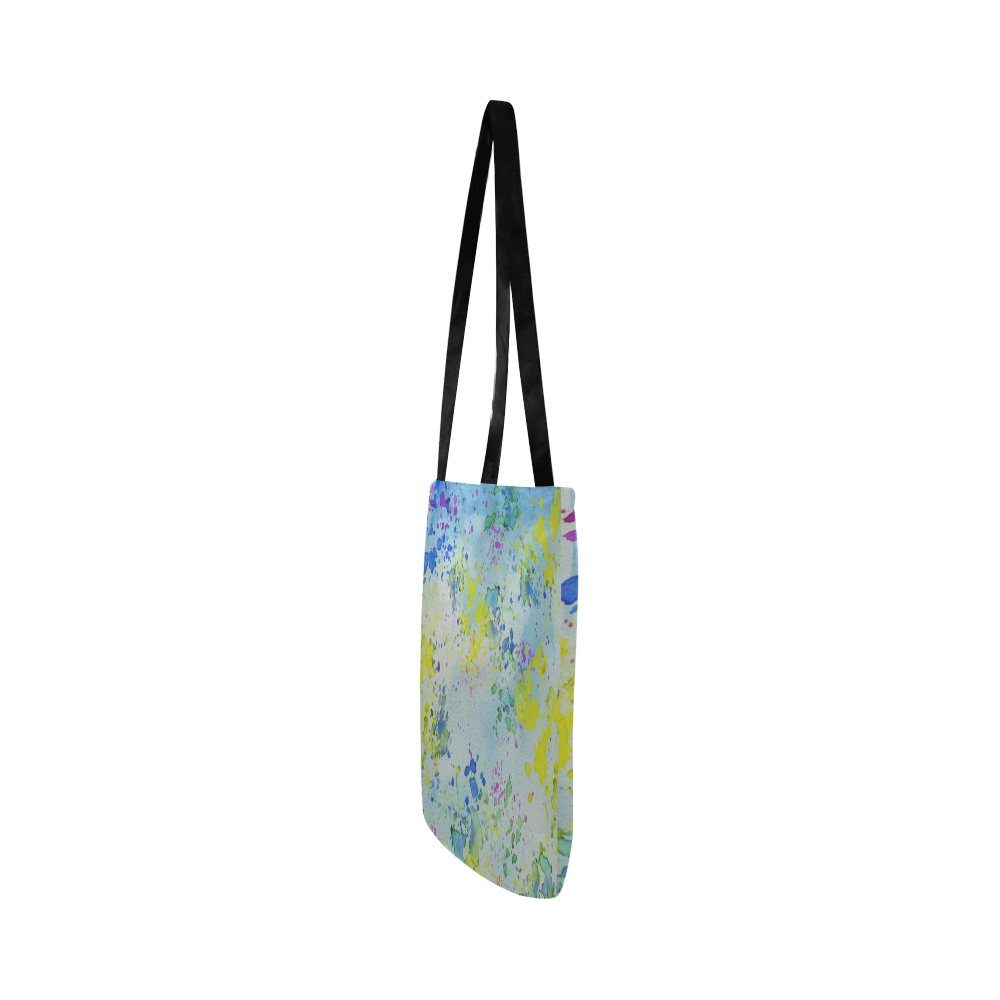 Watercolors splashes Reusable Shopping Bag Model 1660 (Two sides)
