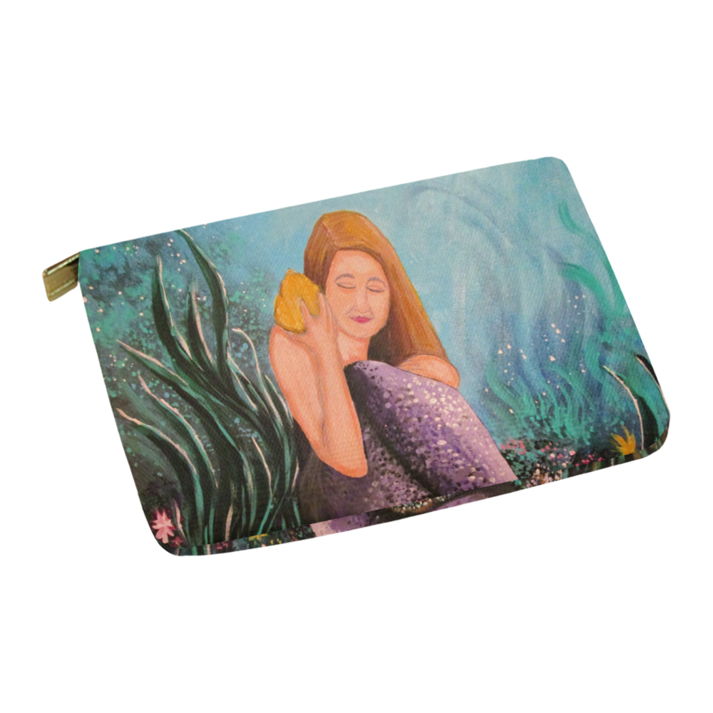 Mermaid Under The Sea Carry-All Pouch 12.5''x8.5''