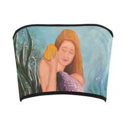 Mermaid Under The Sea Bandeau Top