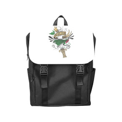 Symbolic Sword Casual Shoulders Backpack (Model 1623)
