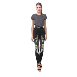 Symbolic Sword Cassandra Women's Leggings (Model L01)