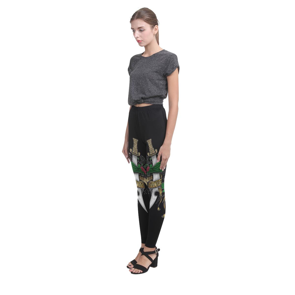 Symbolic Sword Cassandra Women's Leggings (Model L01)