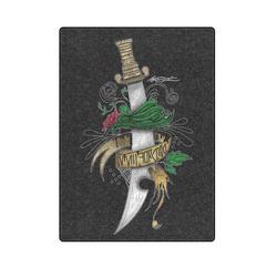 """Symbolic Sword Blanket 58""""x80"""""""