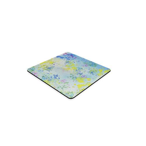 Watercolors splashes Square Coaster