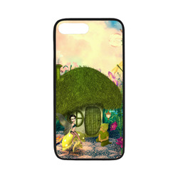 "Cute fairy in the fantasy world Rubber Case for iPhone 7 plus (5.5"")"
