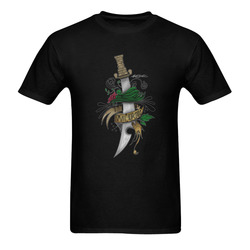 Symbolic Sword Sunny Men's T- shirt (Model T06)