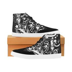 Zodiac - Gemini Herdsman High Top Shoes for Women (Model 038)