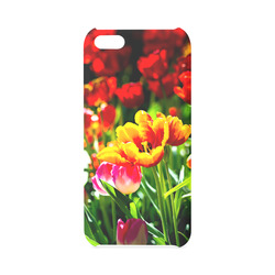 Tulip Flower Colorful Beautiful Spring Floral Hard Case for iPhone 5C