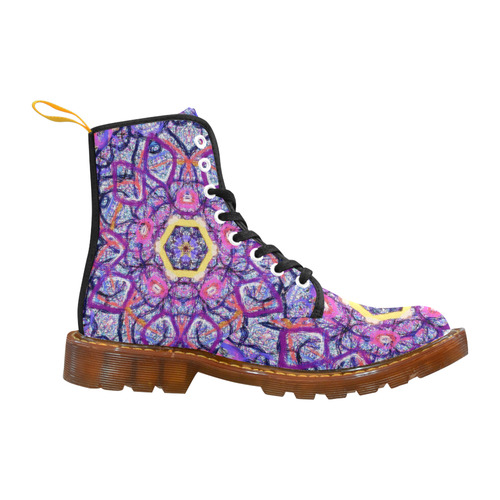Thleudron Women's Royalty Martin Boots For Women Model 1203H
