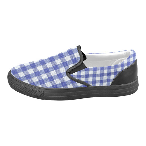 BLUEKARO 13 Women's Unusual Slip-on Canvas Shoes (Model 019)
