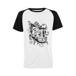 Zodiac - Gemini Men's Raglan T-shirt Big Size (USA Size) (Model T11)